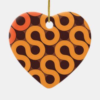 standard of waves ceramic ornament