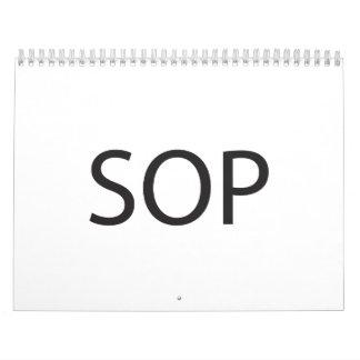 Standard Operating Procedure.ai Wall Calendars