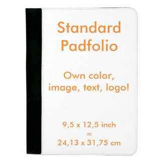 Standard Padfolio uni White ~ Own Color