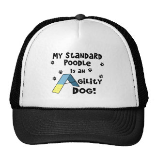 Standard Poodle Agility Dog Hat