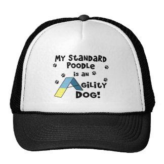 Standard Poodle Agility Dog Trucker Hat