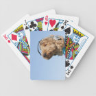 Standard Poodle Bicycle Playing Cards