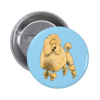 Standard Poodle Pinback Button