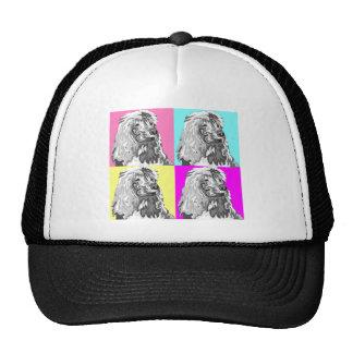 Standard Poodle Does Pastel Hat