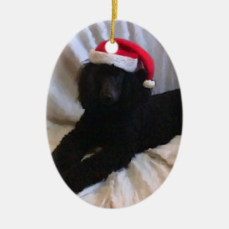 Standard Poodle Christmas Ornaments