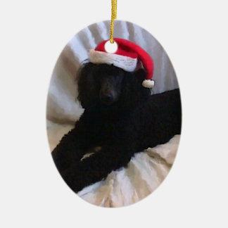 Standard Poodle Christmas Ornaments