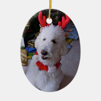 Standard Poodle Ornament