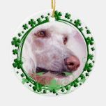 Standard Poodle St. Patrick's Day Ornament