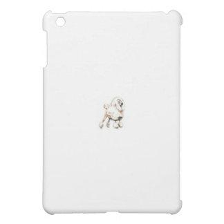 Standard Poodle White iPad Mini Case