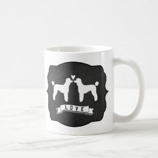 Standard Poodles Love Coffee Mug