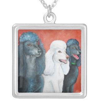 Standard Poodles Necklace
