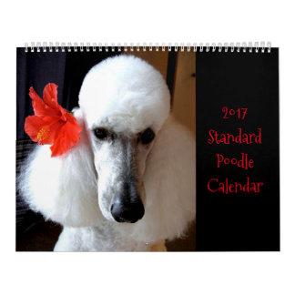 Standard Poodles Rock!  2017 Calendar