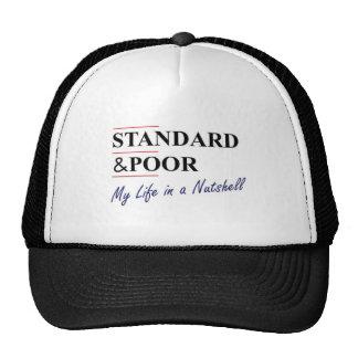 Standard & Poor: My Life In A Nutshell Mesh Hat