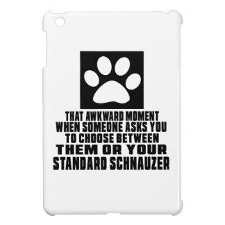 STANDARD SCHNAUZER AWKWARD DESIGNS iPad MINI COVER