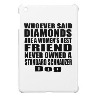 STANDARD SCHNAUZER DOG BEST FRIEND DESIGNS iPad MINI CASE