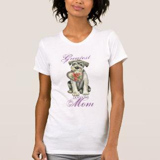 Standard Schnauzer Heart Mom T-Shirt