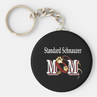 Standard Schnauzer MOM Gifts Keychain