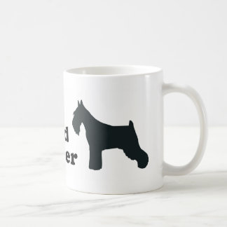 Standard Schnauzer Classic White Coffee Mug