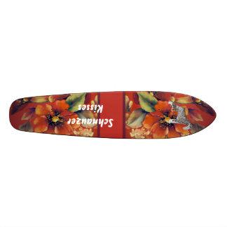 Standard Schnauzer - Schnauzer Kisses Skateboard