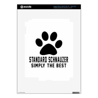 Standard Schnauzer Simply the best iPad 3 Skins