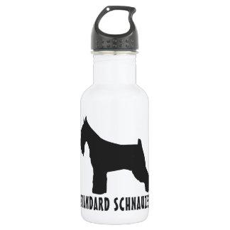 Standard Schnauzer Stainless Steel Water Bottle