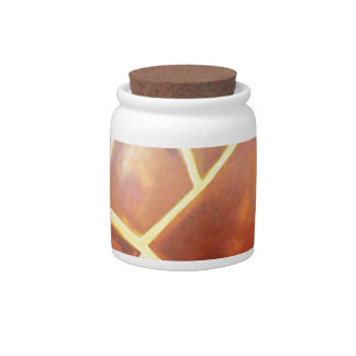 standard scratches with spots candy jar