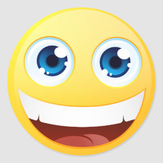 Standard Smiley Sticker