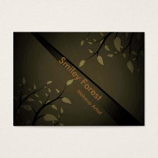 Standard_Steel_patterns_leaves_coffee_design Business Card