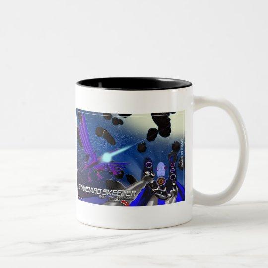 Standard Sublight Skeeters Two-Tone Coffee Mug