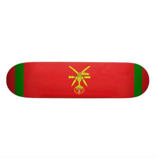 Standard the Sultan Oman, Oman Custom Skate Board