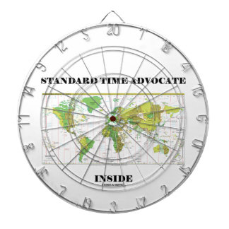 Standard Time Advocate Inside (Time Zones) Dartboards