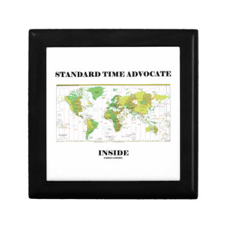 Standard Time Advocate Inside (Time Zones) Jewelry Box