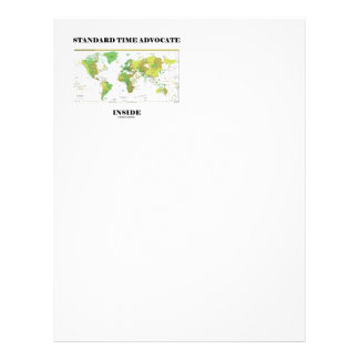 Standard Time Advocate Inside (Time Zones) Customized Letterhead