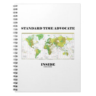 Standard Time Advocate Inside (Time Zones) Notebook