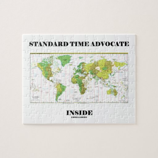 Standard Time Advocate Inside (Time Zones) Puzzle
