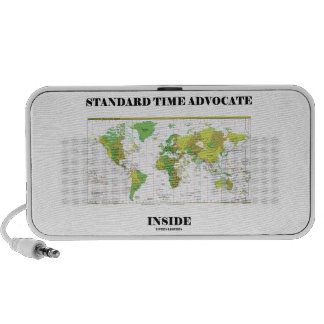 Standard Time Advocate Inside (Time Zones) PC Speakers