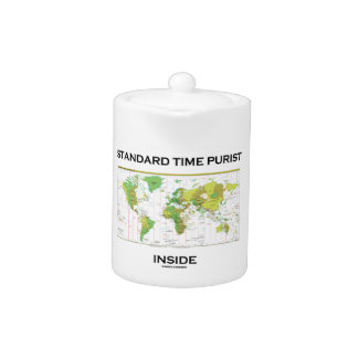 Standard Time Purist Inside (Time Zones World Map)