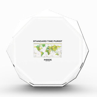 Standard Time Purist Inside (Time Zones World Map) Awards
