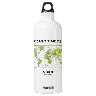 Standard Time Purist Inside (Time Zones World Map) SIGG Traveler 1.0L Water Bottle