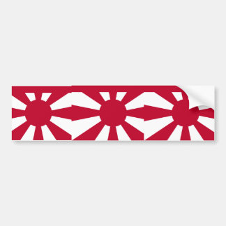 Standard Vice Admiral Imperial Japanese Navy, Japa Bumper Stickers