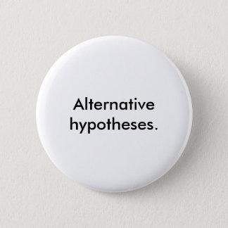 Standard White 'Alternative hypotheses.' Button