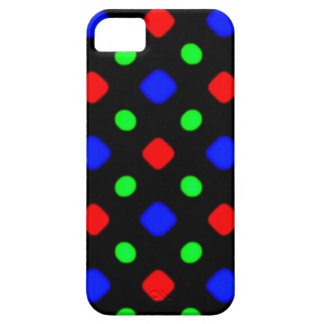 standard with balls and squares iPhone SE/5/5s case