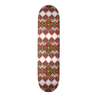 standard with embroidered type skate board decks