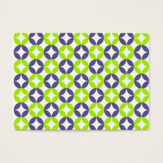 standard with geometric forms business card