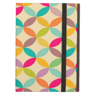 standard with geometric forms iPad air cases