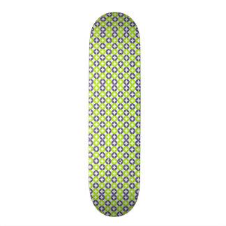 standard with geometric forms skateboard deck