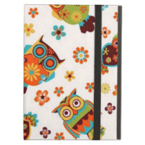 standard with owls iPad air case