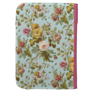 standard with roses kindle cases