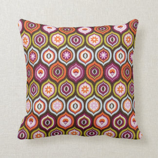 standard with small balls throw pillow