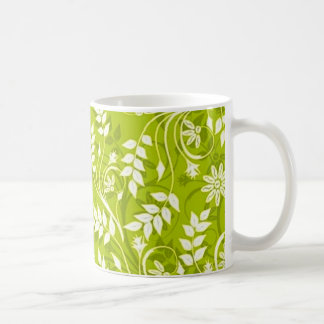 standard with white branches coffee mug